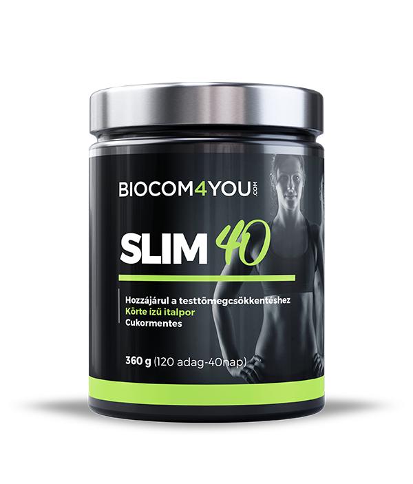 Fogyókúra - SLIM 40 - Idd magad karcsúra! - Fogyókúrás ital Slim40